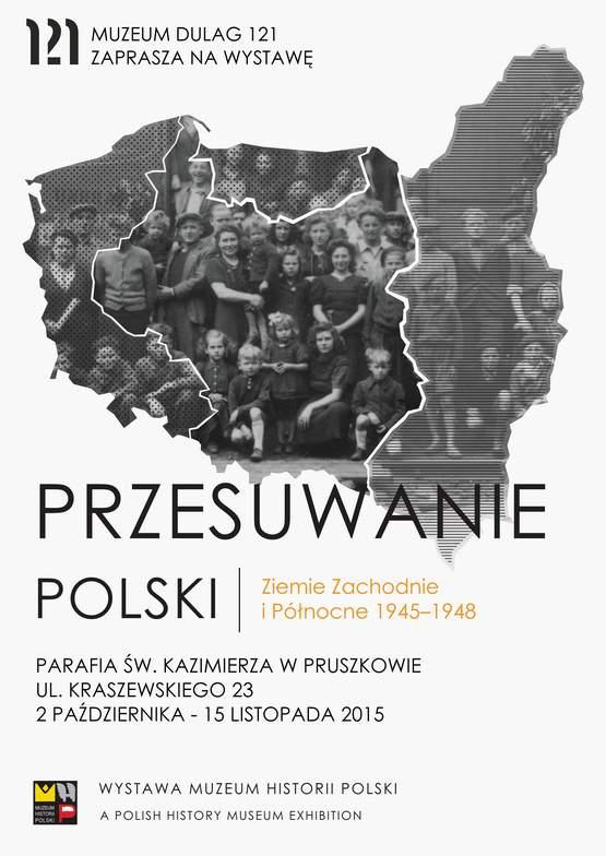 Przesuwanie Polski - plakat