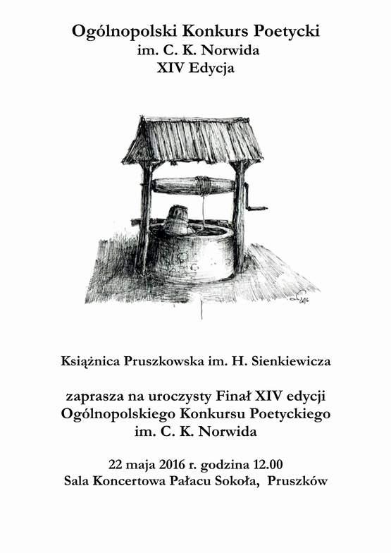 Zaproszenie Norwid 2016www